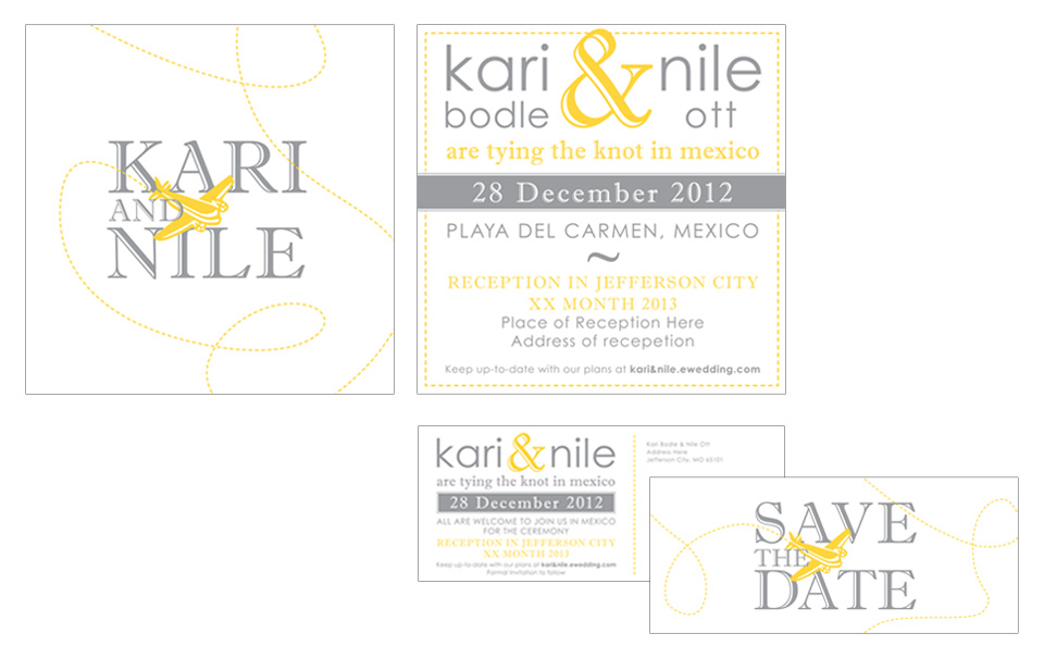 Wedding Invitation & Save the Date Cards – Beth Ott Design |